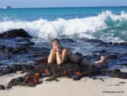 Santa Cruz Is. Playa las Bachas. (5)