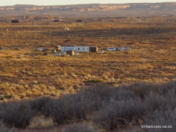 1 Kelias į Antilopės kanjoną. Indėnų navajų kaimas