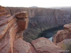 Netoli Peidžo. Kolorado upės Arklio pasagos vingis (Horseshoe Bend) (7)