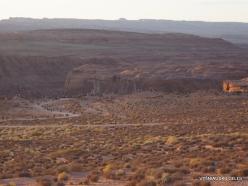 Netoli Peidžo. Kolorado upės Arklio pasagos vingis (Horseshoe Bend). Dykuma (4)