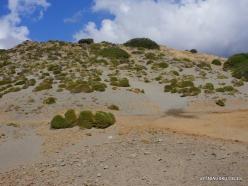 Agios Pavlos. Dunes