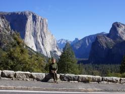 Josemičio nacionalinis parkas. Glacier Point. El Capitan uola (2)