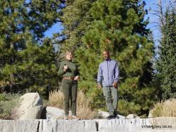 Josemičio nacionalinis parkas. Glacier Point. Su mūsų gidu Marku