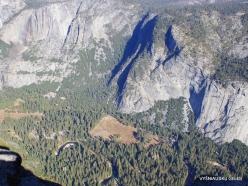 Josemičio nacionalinis parkas. Josemičio slėnis nuo Glacier Point