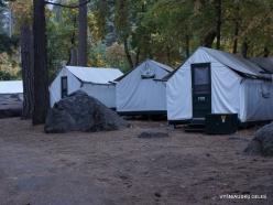 Josemičio nacionalinis parkas. Josemičio slėnis. Camp Curry (2)