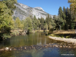 Josemičio nacionalinis parkas. Josemičio slėnis. Merced upė (5)