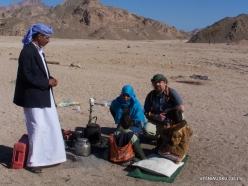 4 Sinai desert. With bedouins