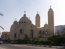 Sharm El Sheikh. Cathedral of the heavenly