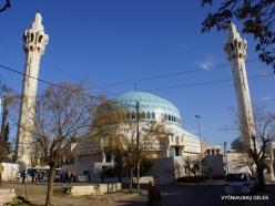 Amman. King Abdullah I Mosque