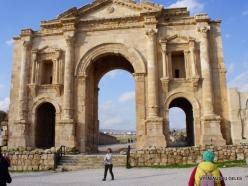 Jerash. Greco-Romanian city of Gearsa. Arch of Hadrian (2)