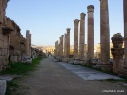 Jerash. Greco-Romanian city of Gearsa. Cardo Maximus