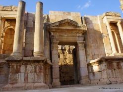 Jerash. Greco-Romanian city of Gearsa. North Theatre (2)