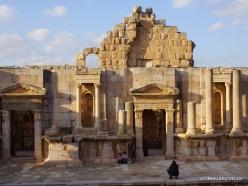 Jerash. Greco-Romanian city of Gearsa. North Theatre (3)