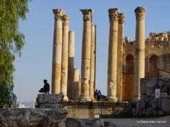 Jerash. Greco-Romanian city of Gearsa. North Theatre