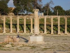 Jerash. Greco-Romanian city of Gearsa. Oval Forum (4)