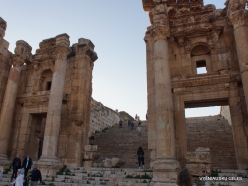Jerash. Greco-Romanian city of Gearsa. Propylaea of Temple of Artemis (2)