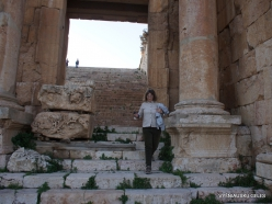 Jerash. Greco-Romanian city of Gearsa. Propylaea of Temple of Artemis