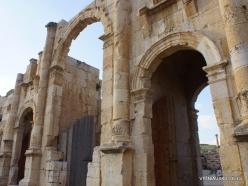 Jerash. Greco-Romanian city of Gearsa. South Gate (2)