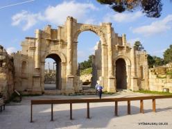 Jerash. Greco-Romanian city of Gearsa. South Gate