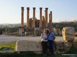 Jerash. Greco-Romanian city of Gearsa. Temple of Artemis