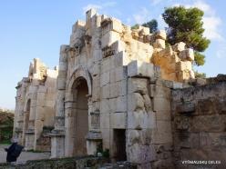 Jerash. Greco-Romanian city of Gearsa. Temple of Zeus
