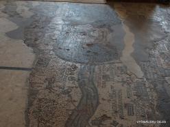 Madaba. St George's Church. Mosaic Map