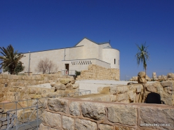 Mount Nebo. Memorial Church of Moses (4)
