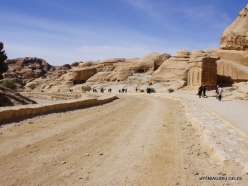 Petra. Road to the ancient city (5)