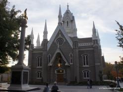 Solt Leik Sitis. Salt Lake Assembly Hall (1877)