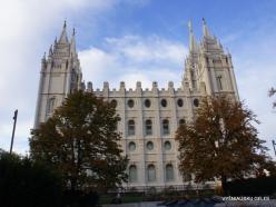 Solt Leik Sitis. Salt Lake Temple (1893)