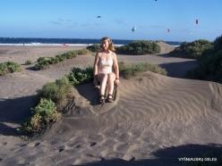 Near El Medano. Playa del Médano