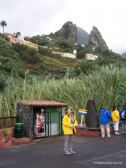 La Gomera. Hermigua