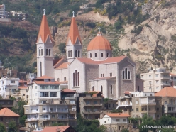 Wadi Kadisha (Kadisha Valley). Bsharri church