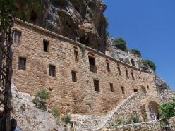 Wadi Kadisha (Kadisha Valley). Monastery of Mar Lishaa (St. Elisha) (3)