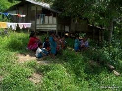 Kelantan. Lojing Highlands. Village of Orang Asli (Temiar) peoples (2)