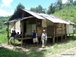 Kelantan. Lojing Highlands. Village of Orang Asli (Temiar) peoples (5)