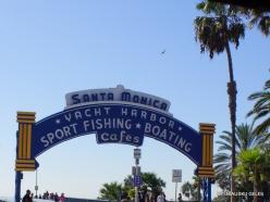 Los Andželas. Santa Monica paplūdimys (2)