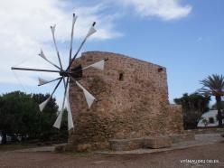 Toplou Monastery. Windmill