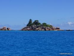 Seišeliai. St.Pierre sala