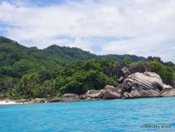 Seychelles. La Digue. Anse Severe