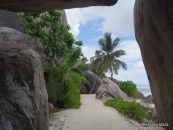 Seychelles. La Digue. Anse Source d'Argent (2)