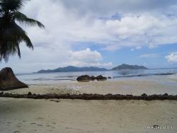 Seychelles. La Digue. Anse Source d'Argent