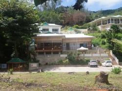 Seišeliai. Praslin. Anse La Blague. Villa Anse La Blague