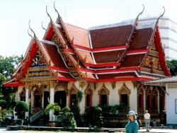 Hua Hin. Wat Ampharam