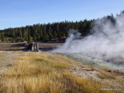 Jeloustono nacionalinis parkas. Midway Geyser Basin. Excelsior Geyser Crater (7)