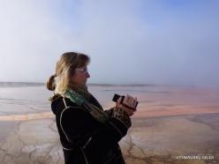 Jeloustono nacionalinis parkas. Midway Geyser Basin. Grand Prismatic Spring (4)