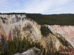 Jeloustono nacionalinis parkas. The Grand Canyon of the Yellowstone (10)