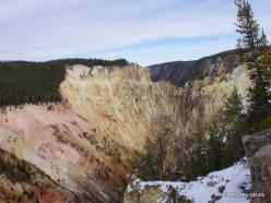Jeloustono nacionalinis parkas. The Grand Canyon of the Yellowstone (11)