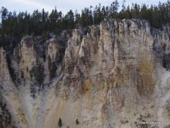Jeloustono nacionalinis parkas. The Grand Canyon of the Yellowstone (14)