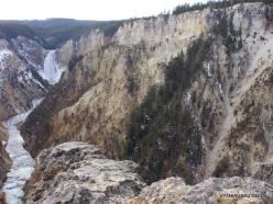 Jeloustono nacionalinis parkas. The Grand Canyon of the Yellowstone (17)